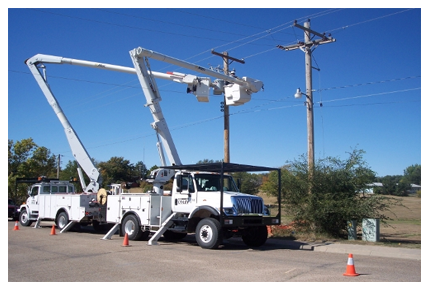 Bucket Truck Dielectric Testing